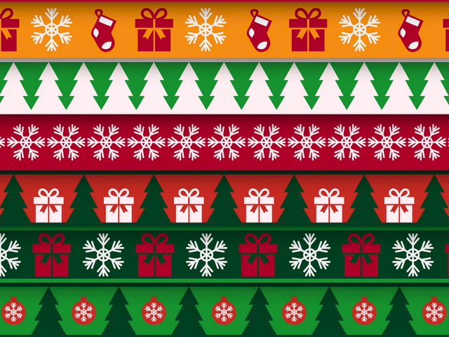 WordPress Christmas Pattern